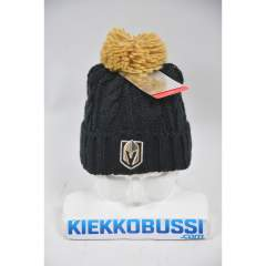 Vegas Golden Knights knit pom beanie