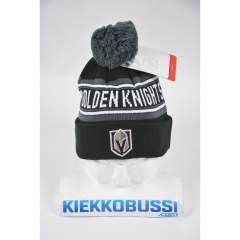 Vegas Golden Knights Cuff Pom kids NHL beanie